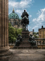 My concealed view of the Berlin Cathedral by pingallery
