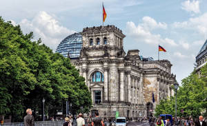 Berlin - Reichstag Building by pingallery