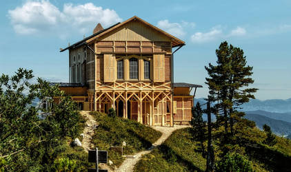 Royal House on the Schachen by pingallery