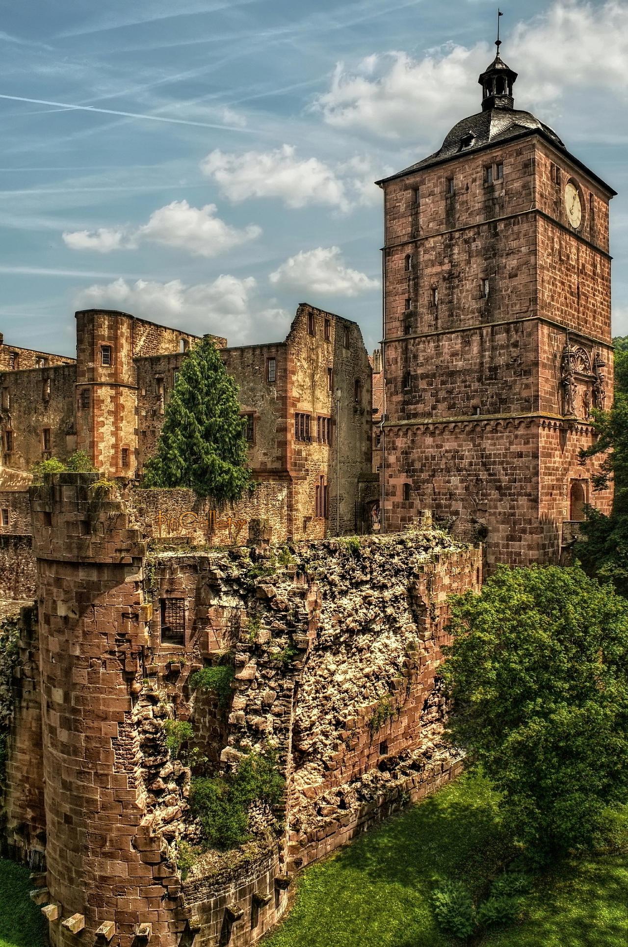 Castle Ruins in Heidelberg I