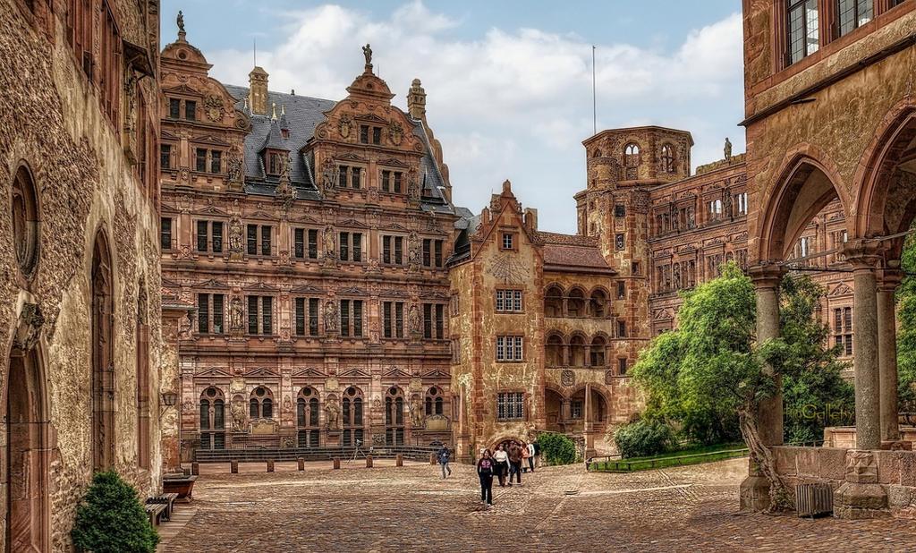 Castle Ruins in Heidelberg II by pingallery