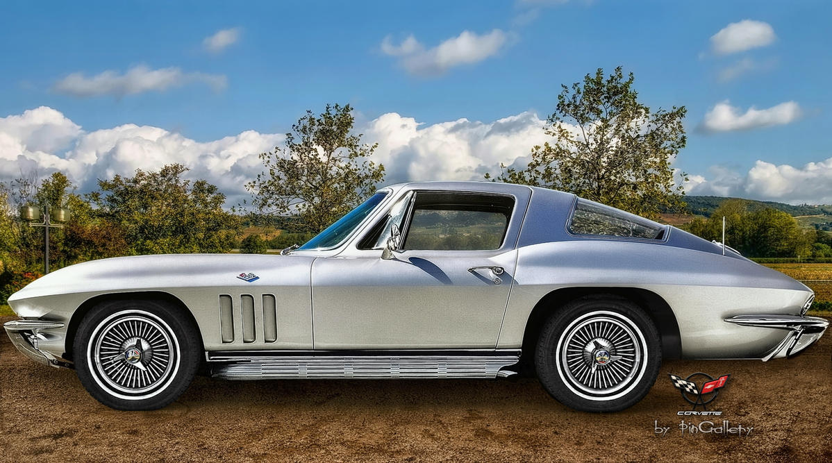 Chevrolet Corvette C2 Sting Ray 1966 by pingallery