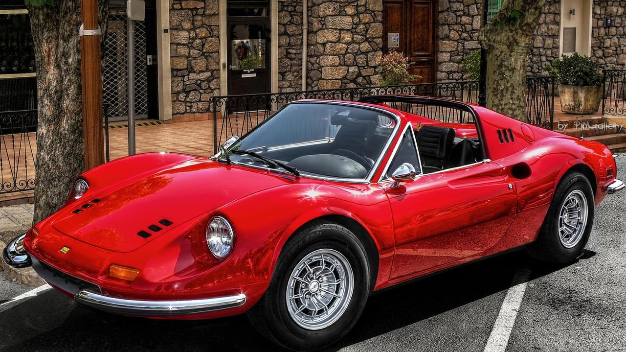 Ferrari Dino 246 GTS by pingallery