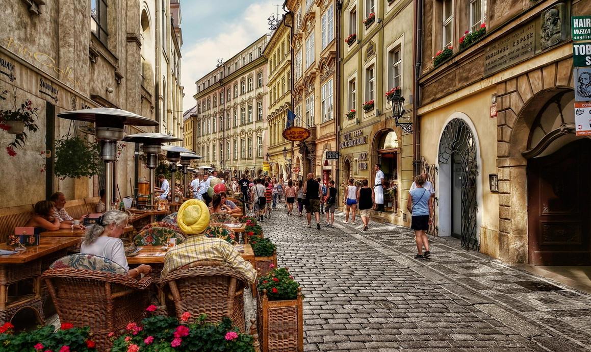 Prague - Street Scene I by pingallery