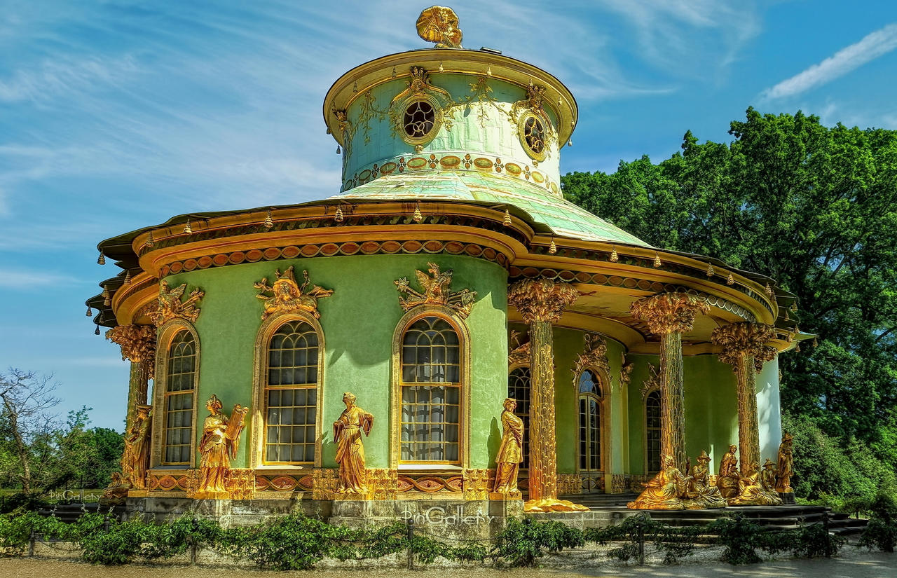 Park Sanssouci Chinese House By Pingallery On Deviantart