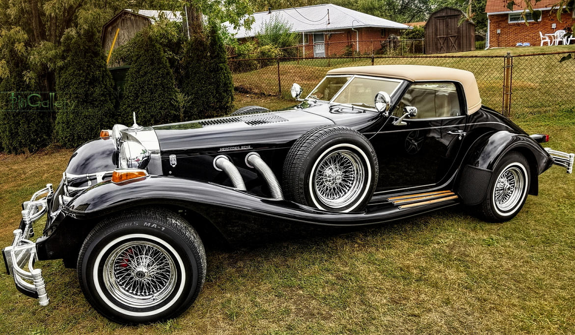 Beautiful classic Mercedes Typ 500K by pingallery on DeviantArt