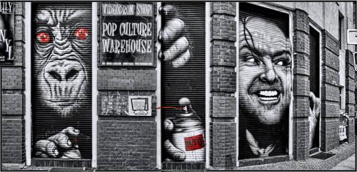 Berlin - Street Art like I it likes by pingallery