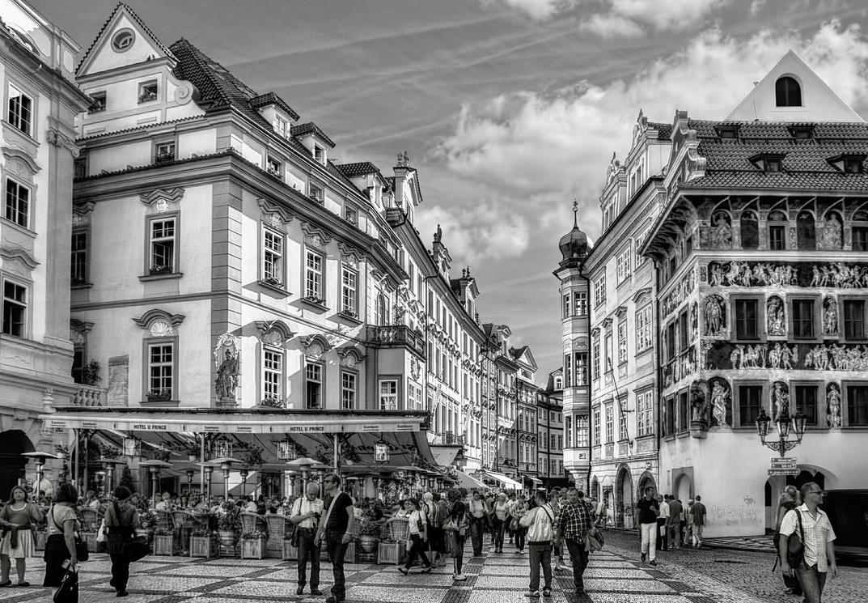 Prague - Street Scene III by pingallery