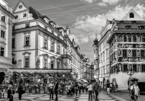 Prague - Street Scene III