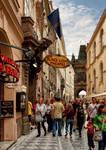 Prague - Street Scene IV - Karlova