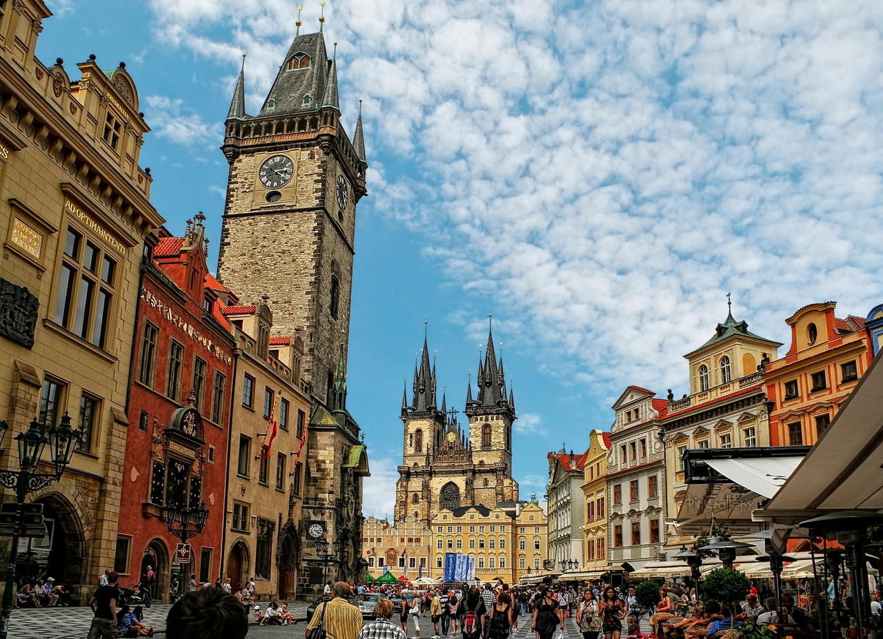 Hdr prague by pingallery on deviantart for Prague square