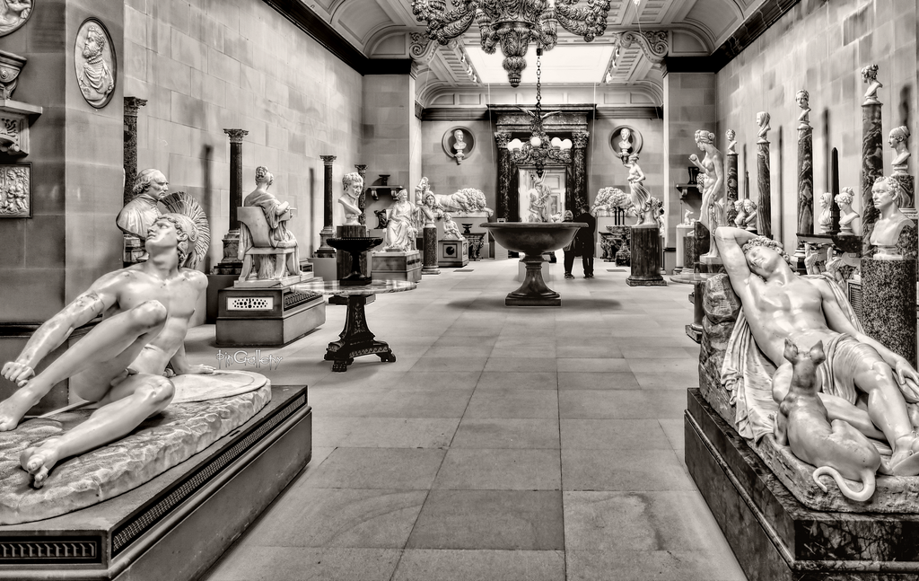 Chatsworth House - Sculpture Gallery by pingallery