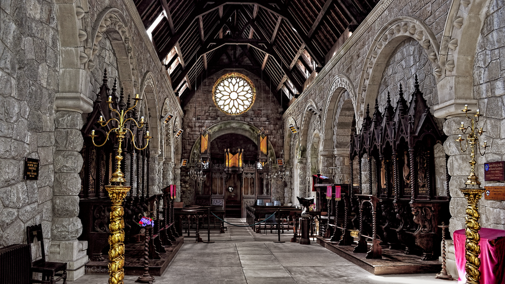 Scotland - St Conans Kirk by pingallery