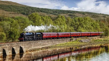 Scotland - West Highland Line - The Jacobite