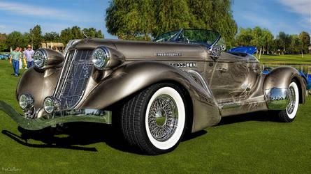Auburn Speedster 1936 by pingallery