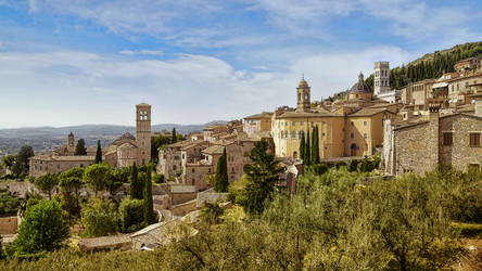 Assisi by pingallery
