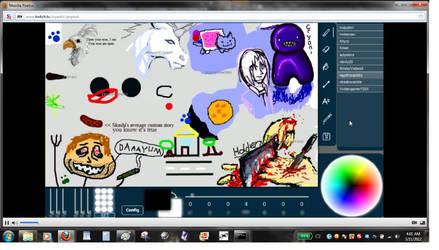 Livestream Drawing Fun 008 by dragonmunchies