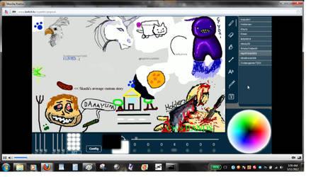 Livestream Drawing Fun 007 by dragonmunchies