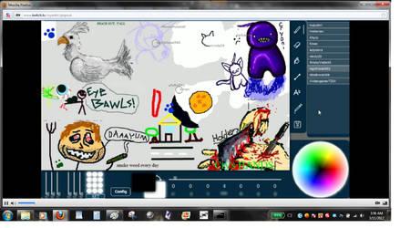 Livestream Drawing Fun 006 by dragonmunchies