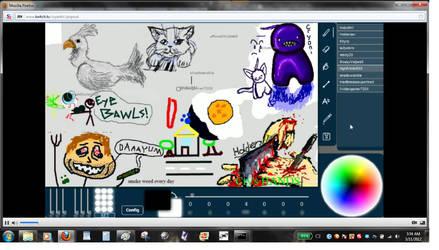 Livestream Drawing Fun 005 by dragonmunchies