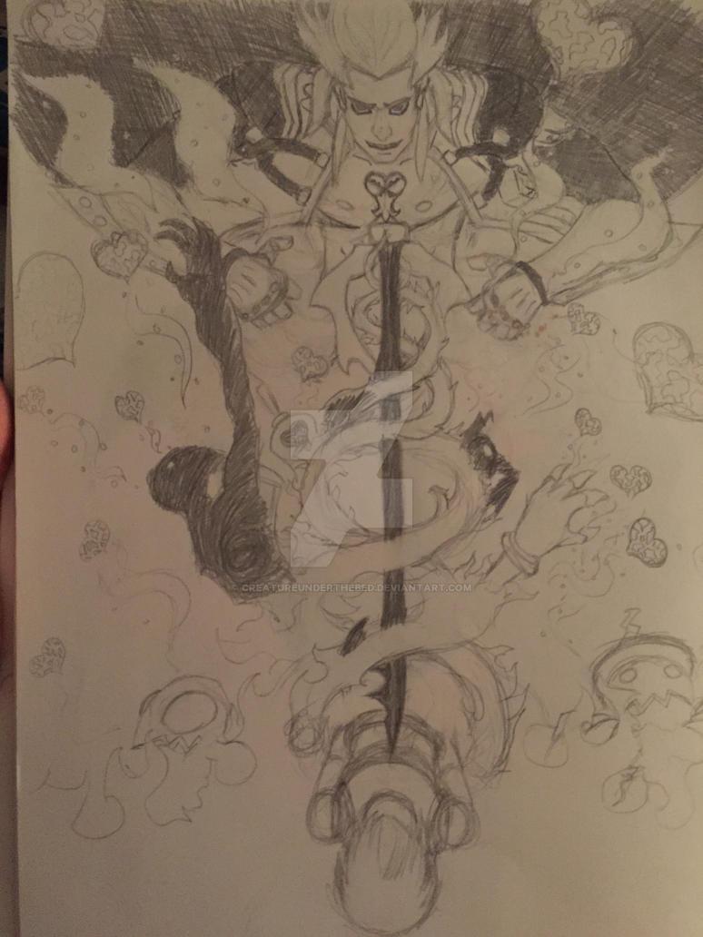 Ansem poster project by CreatureUnderTheBed