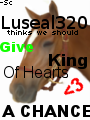 Give King A Chance Luseal320 by Starcather9