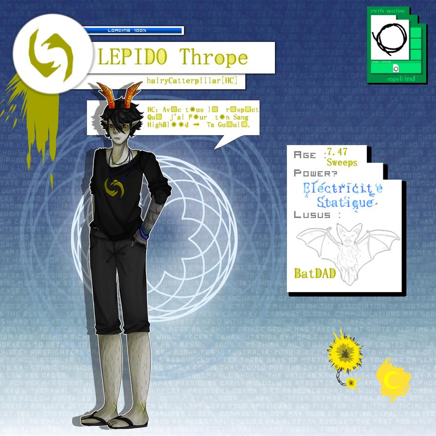 LEPIDO Thrope -RPG-Stuck- by Kawaii797