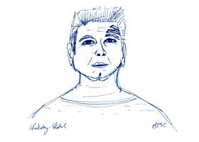 Chakotay sketch by AdamTSC