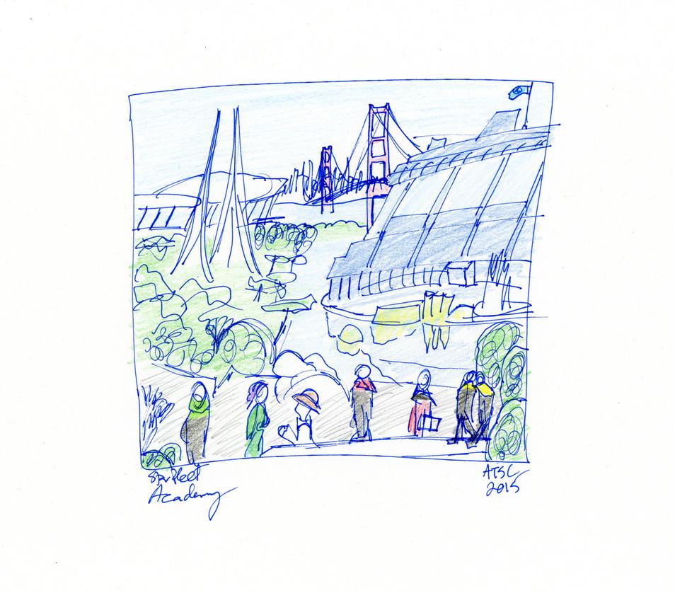 Starfleet Academy Sketch by AdamTSC
