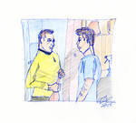 Kirk and McCoy Sketch