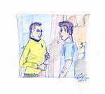 Kirk and McCoy Sketch