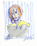 B'Elanna Torres Sketch
