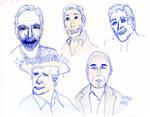 Trek People Sketches
