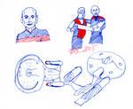 Captains and Enterprises Sketch