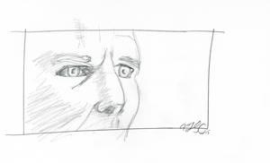 Bladerunner - Deckard close-up by AdamTSC