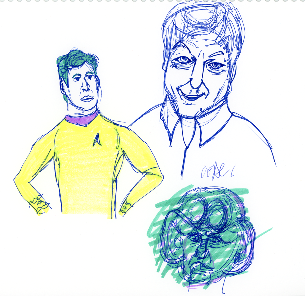 Trek Doodle by AdamTSC