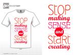 Stop making sense and start creating