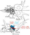Styracosaurus cranium interior and underside #2
