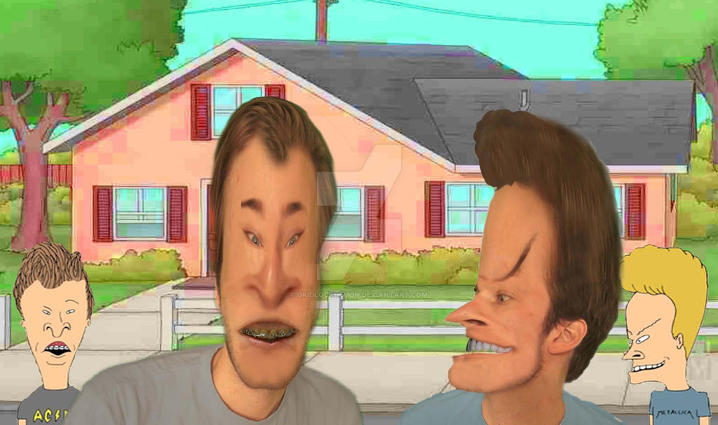 Beavis and Butthead in real life (Pewdiepie) by gridlockdemon