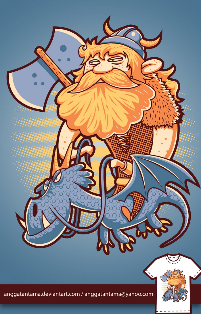 Viking by anggatantama