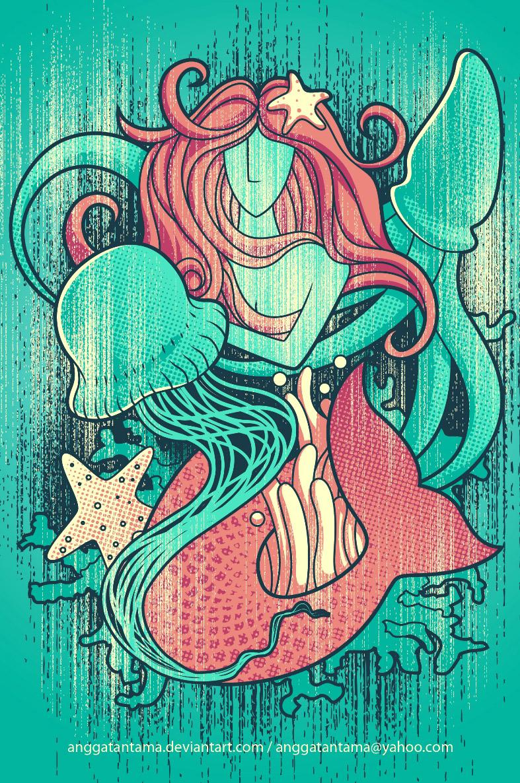 Mermaid by anggatantama