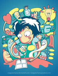 Making Comic by anggatantama