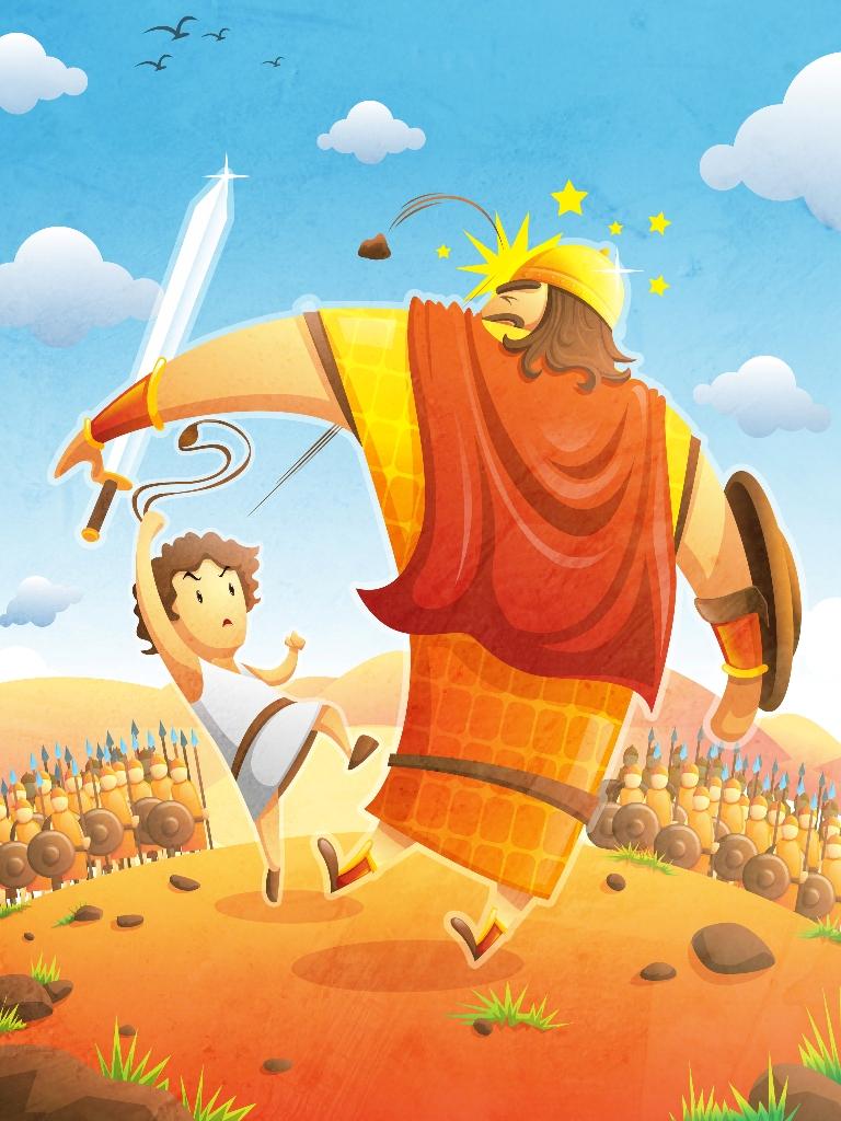 David vs Goliath by anggatantama