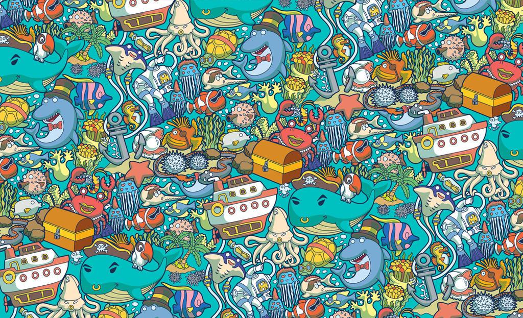 Sea Pattern by anggatantama