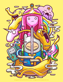 Adventure Time by anggatantama