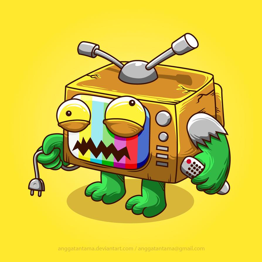 TV Monster by anggatantama