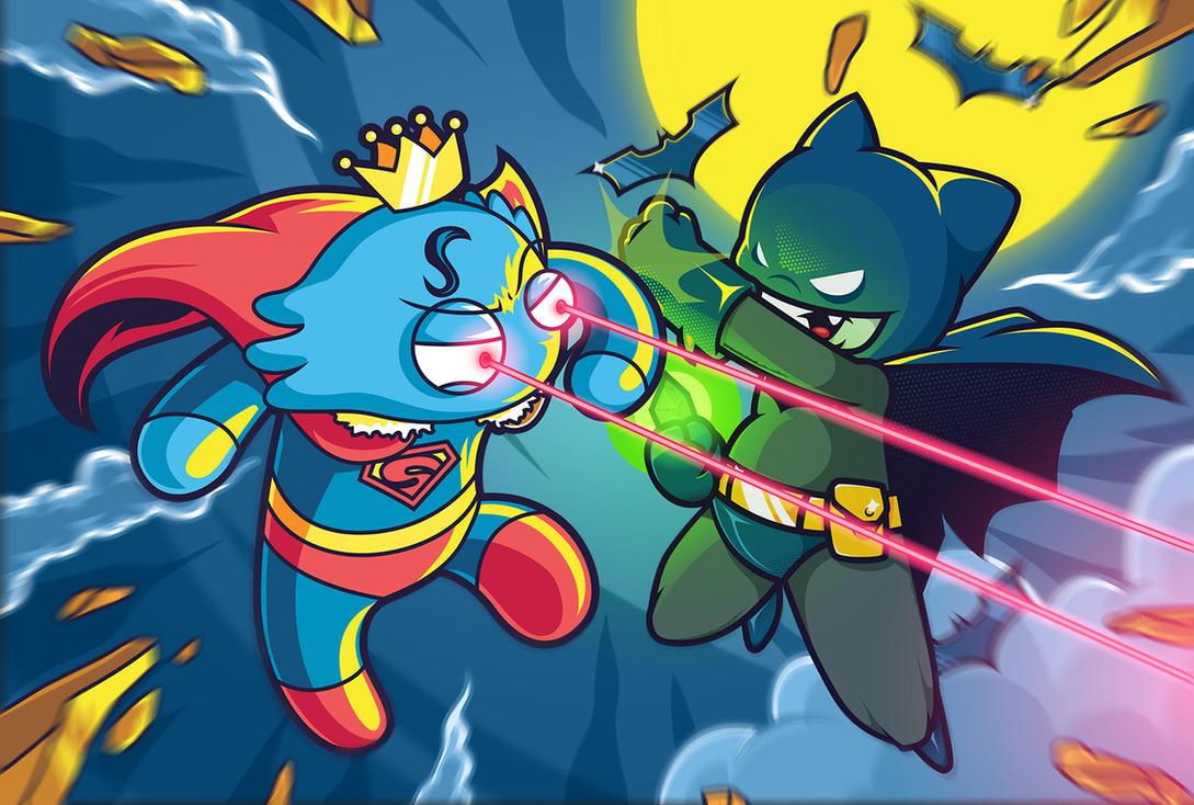 Superman Vs Batman by anggatantama