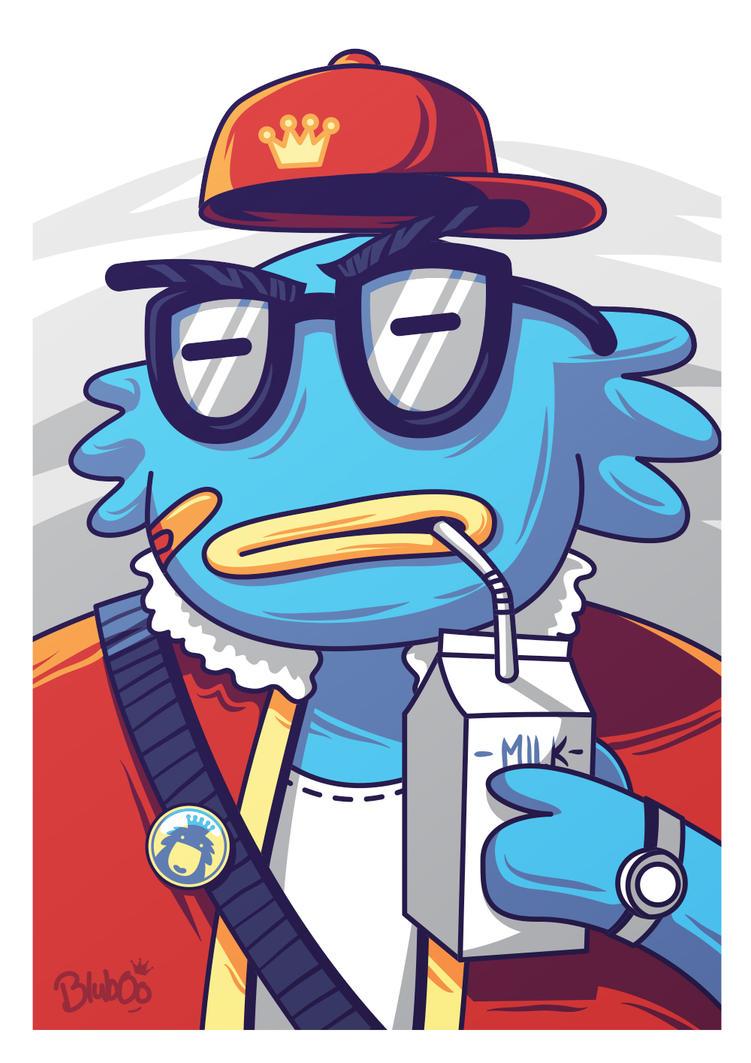 Hipster Bluboo   by anggatantama