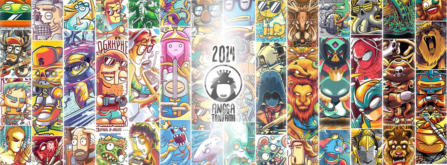 My artworks in 2014 by anggatantama