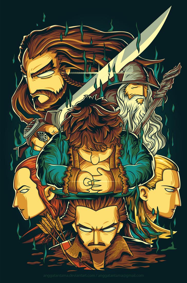 The Hobbit by anggatantama